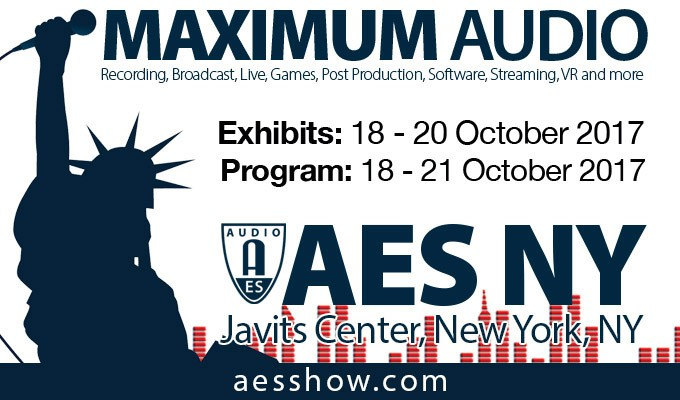AES New York Convention to Debut New Exhibition Floor Stages and Sessions at the Largest Pro Audio Education and Networking Event of the Year