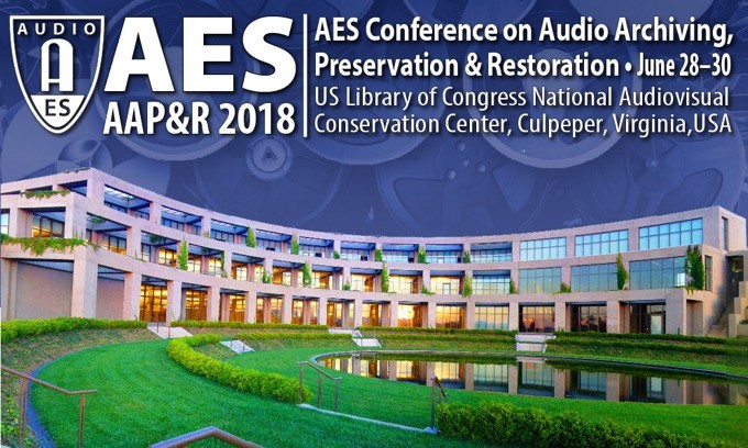 Iron Mountain Entertainment Services to Serve as Platinum Sponsor for Upcoming AES Conference on Audio Archiving, Preservation & Restoration