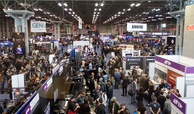 AES New York Convention Exhibitors Bring Top Tech to Eager Attendees