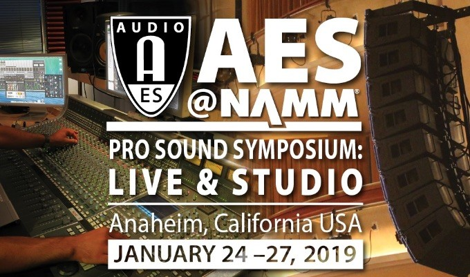 AES@NAMM Pro Sound Symposium: Live & Studio 2019 Covers the Spectrum with Entertainment Wireless and In-Ear Monitoring Academies