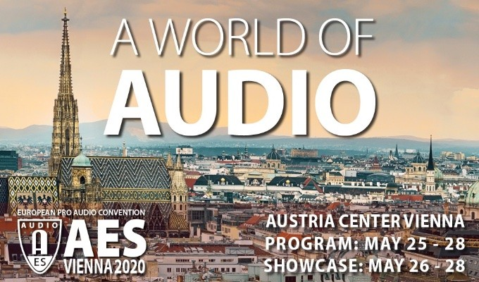 "AES Vienna 2020 to Offer ""A World of Audio"""