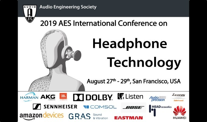 Registration Opens for AES International Conference on Headphone Technology