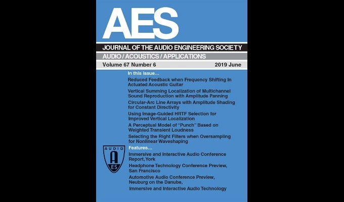 June Issue of the AES Journal Available Online