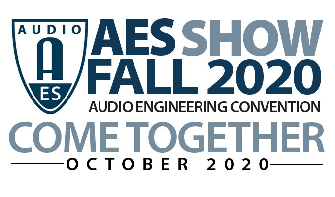 AES Show Fall 2020 Registration Opens, Virtual Stage Set for Audio Engineering Month in October