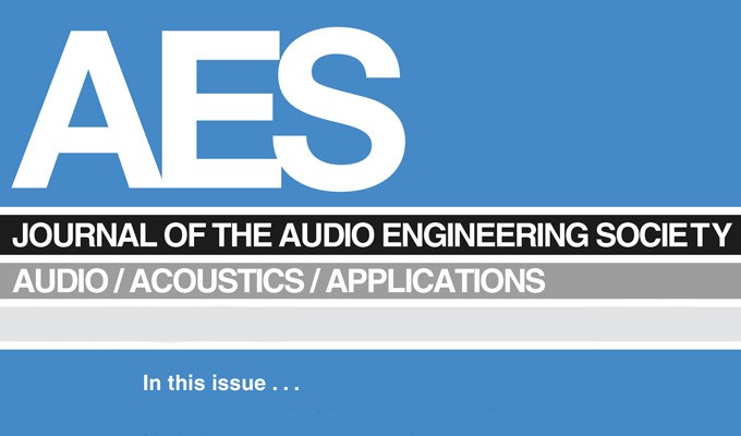 Journal of the Audio Engineering Society Reader Survey