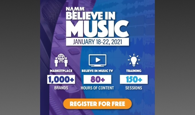 "AES to Host ""Believe in Music Week"" Event Sessions, January 21 and 22"