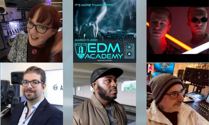 AES EDM Academy Schedule and Partner Announced