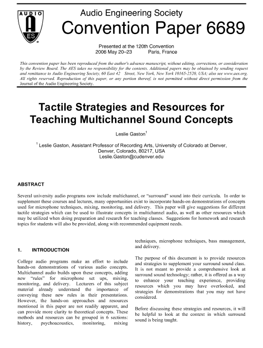 tomlinson holman surround sound pdf free