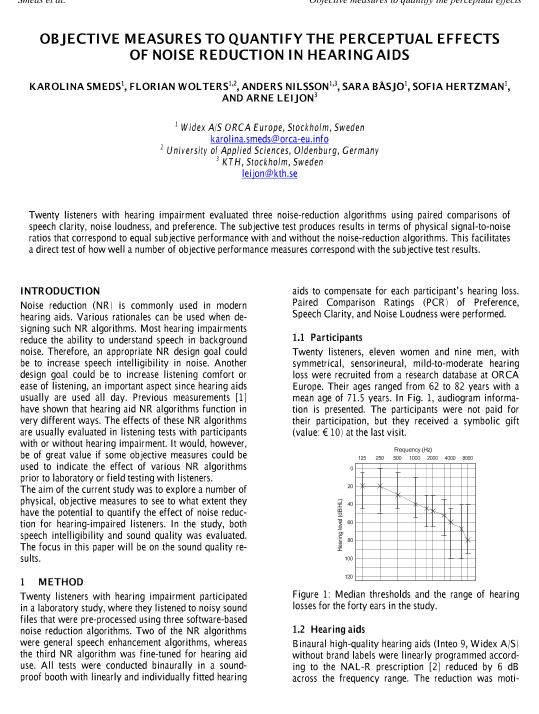 AES E-Library » Objective Measures to Quantify the Perceptual