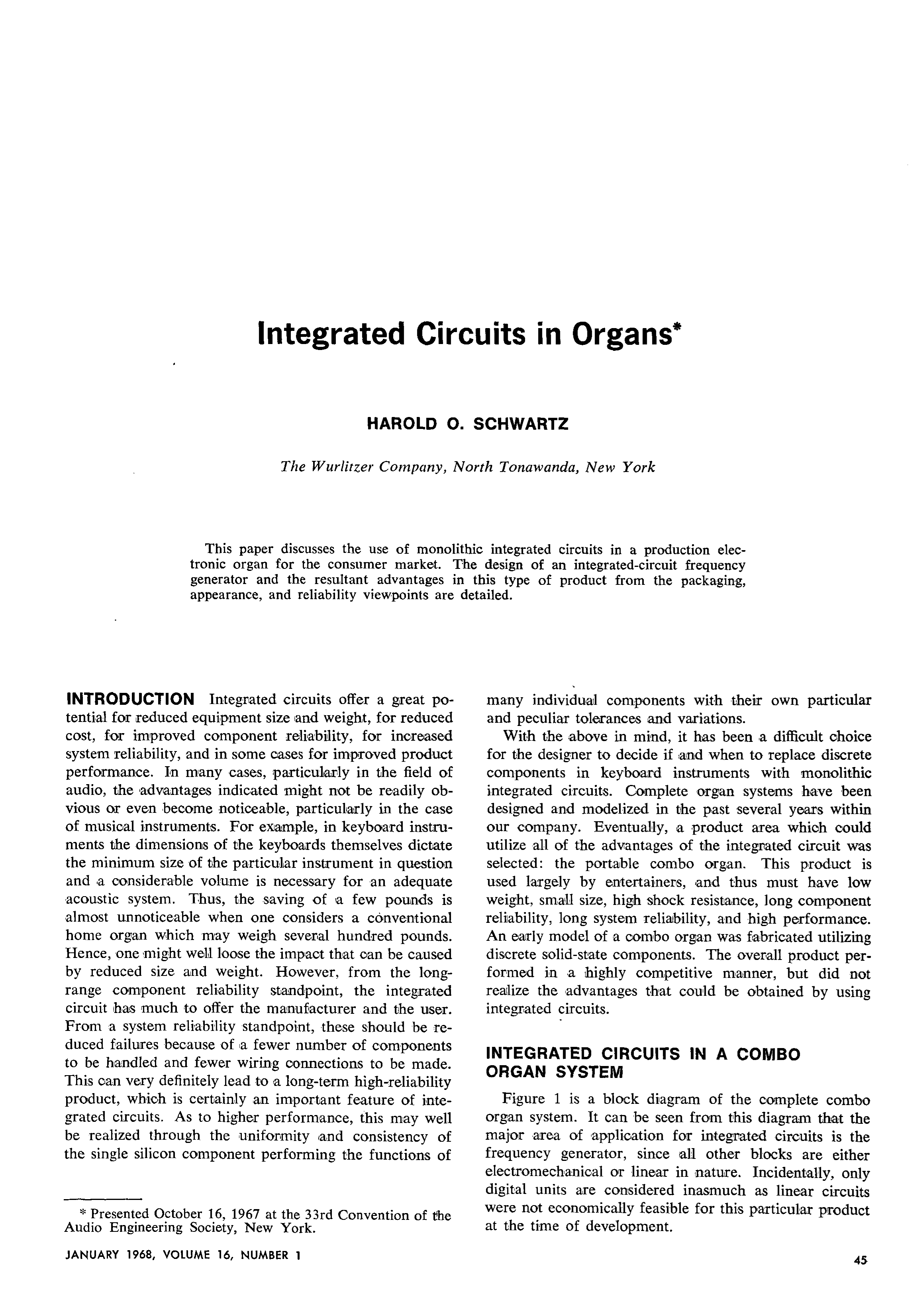 The History Of Integrated Circuits And Microchips Thumbnail Aes E Library In Organs