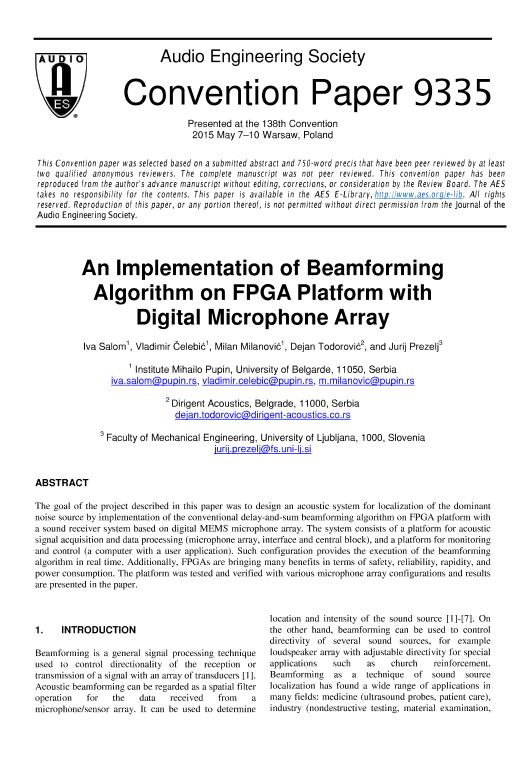 digital beamforming thesis