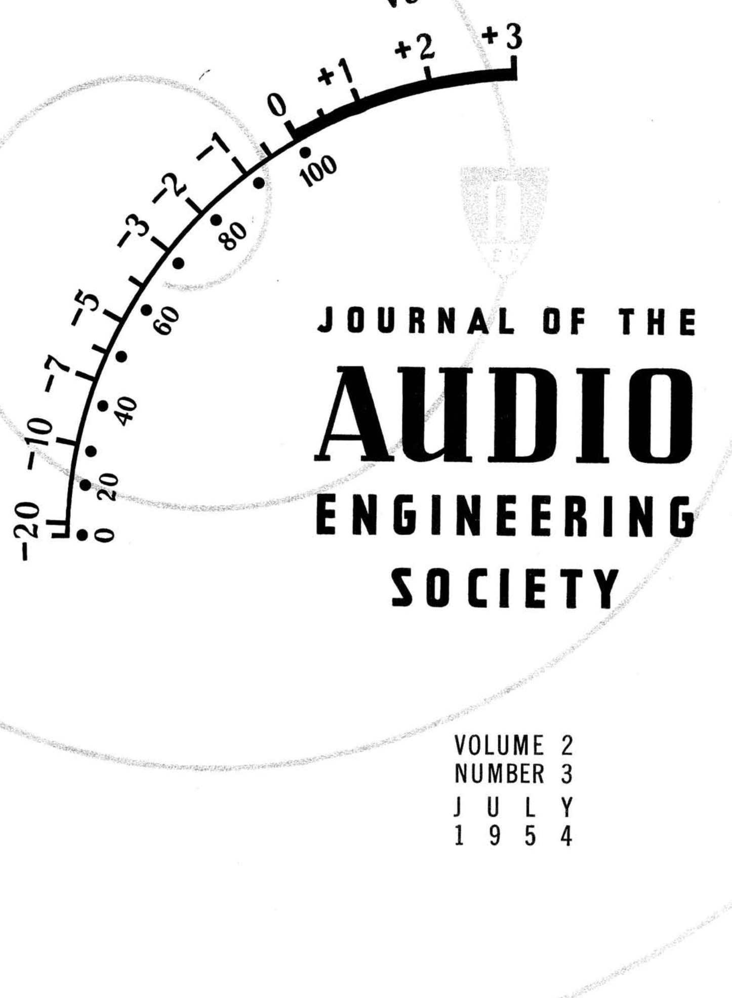 Aes E Library 187 Complete Journal Volume 2 Issue 3