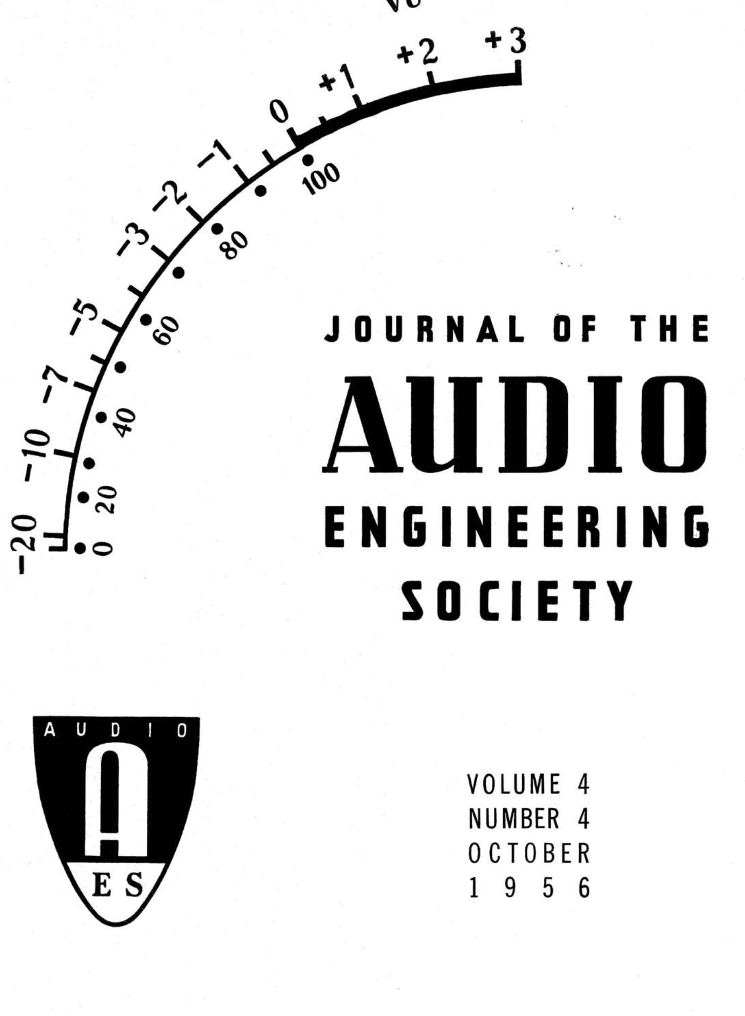 Aes E Library Complete Journal Volume 4 Issue Connected To The Potentiometric Circuit As A Null Detector Switch