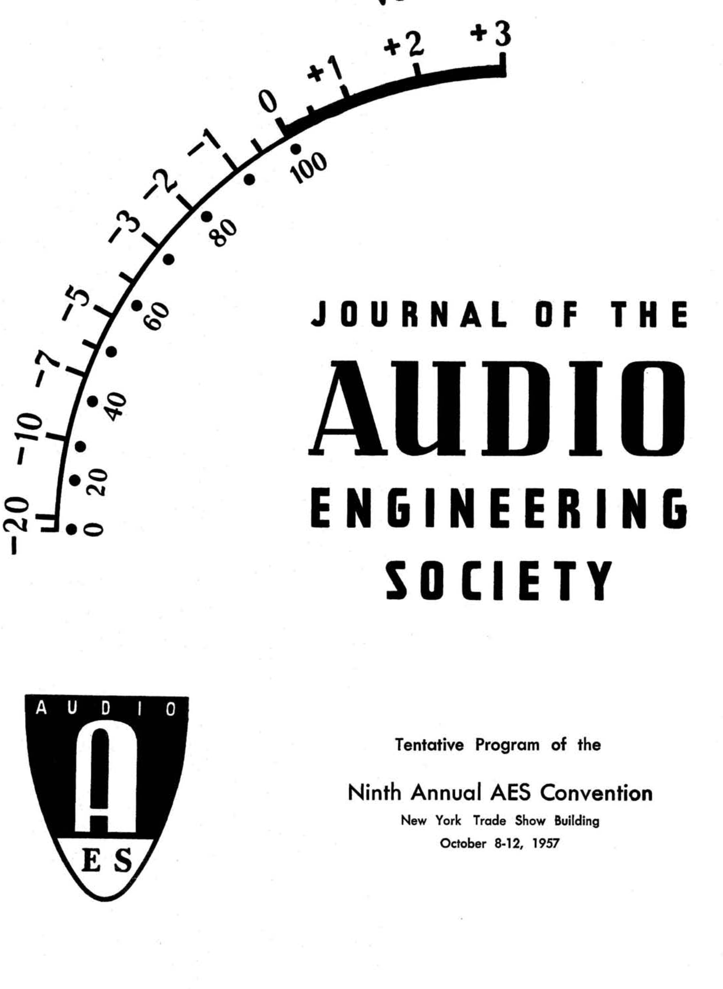 AES E-Library » Complete Journal: Volume 5 Issue 1