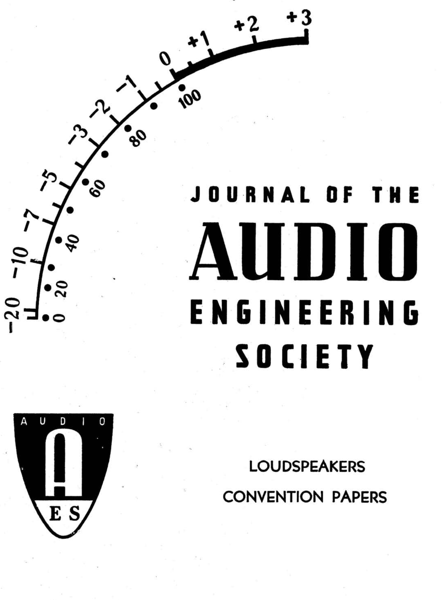 AES E-Library » Complete Journal: Volume 7 Issue 1