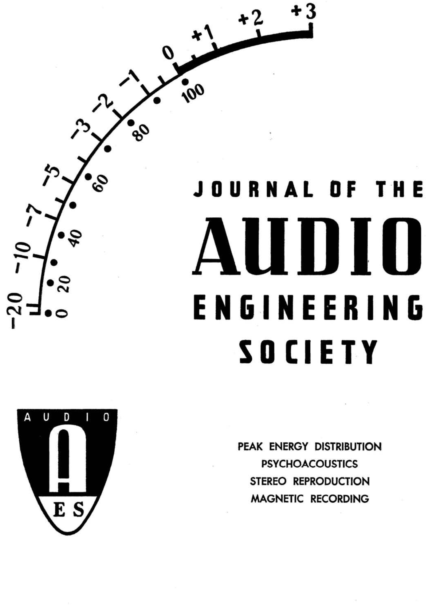 AES E-Library » Complete Journal: Volume 7 Issue 2