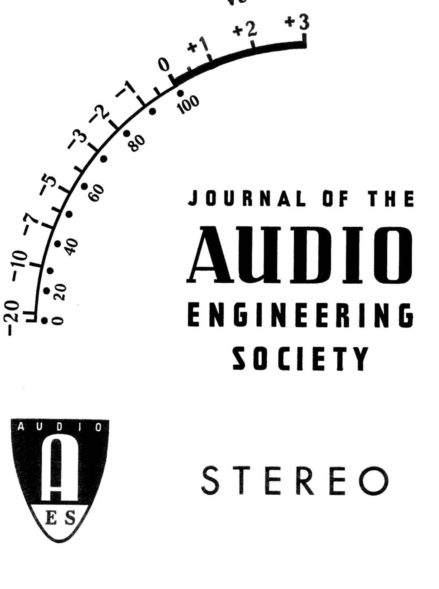 AES E-Library » Complete Journal: Volume 8 Issue 2