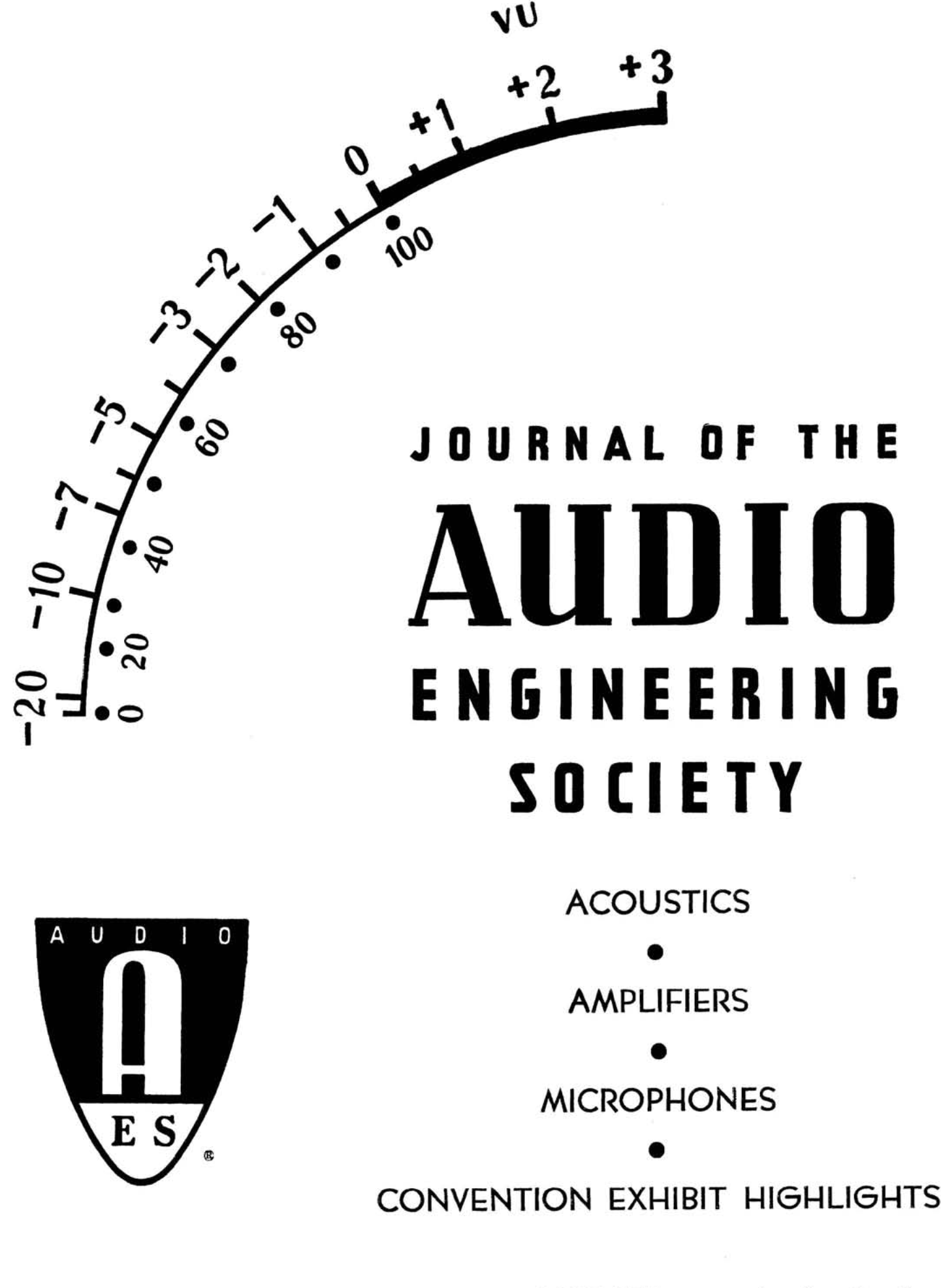 Wet Sounds Eq Wiring Diagram Aes E Library Complete Journal Volume 13 Issue 4