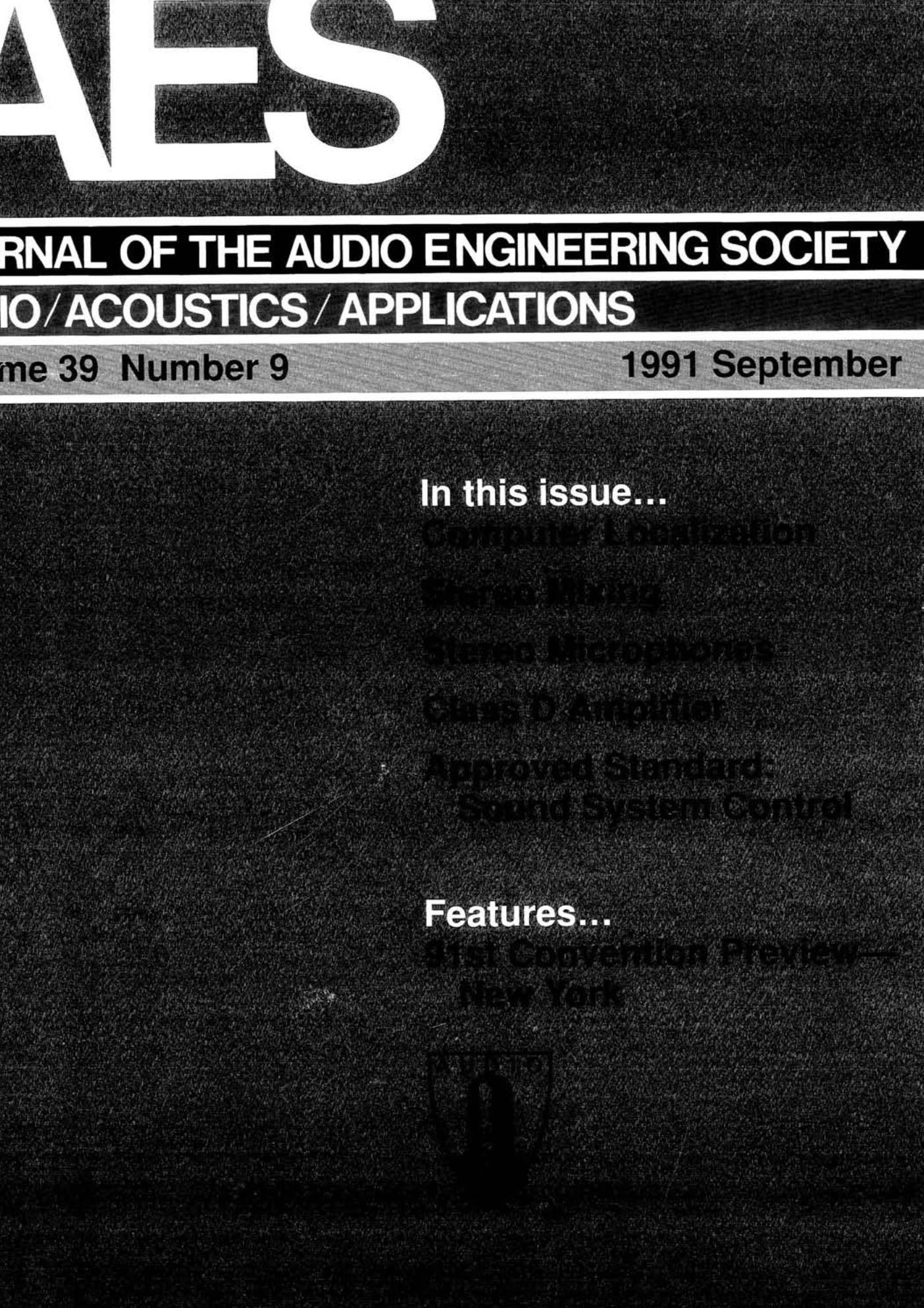 00a9729ed0 AES E-Library » Complete Journal  Volume 39 Issue 9