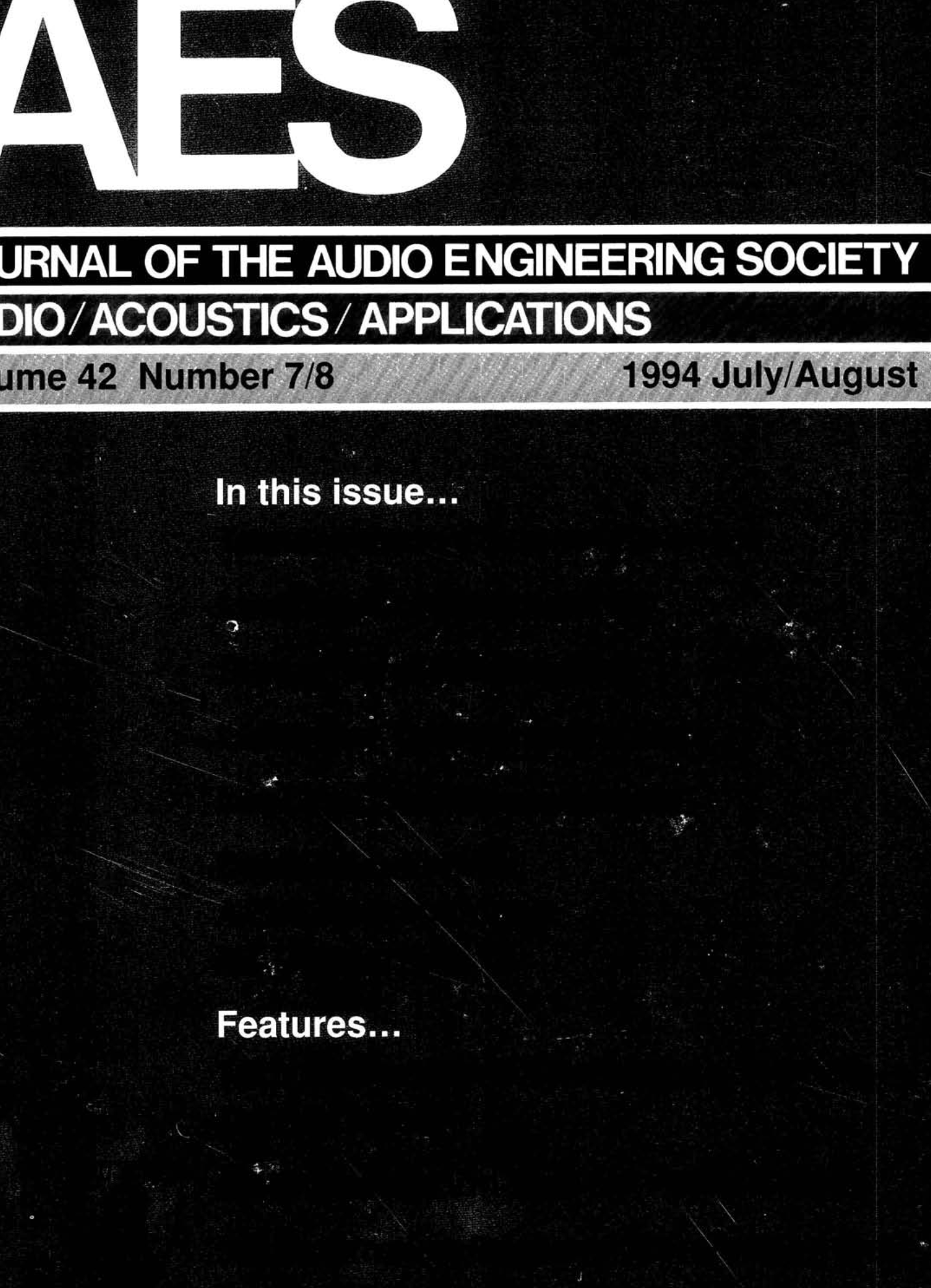 Aes E Library Complete Journal Volume 42 Issue 7 8 Honda Prelude Blaster Coil Wiring Diagram