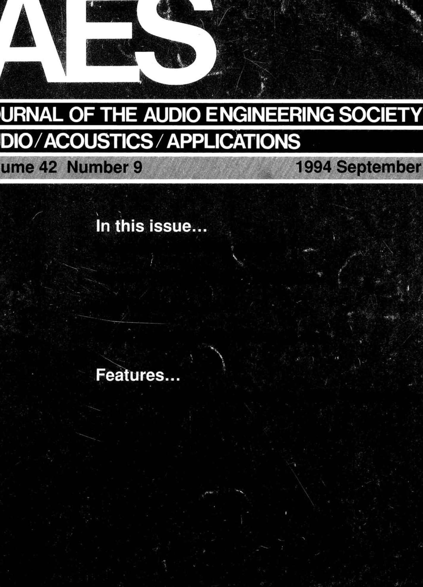 Aes E Library Complete Journal Volume 42 Issue 9 24 Kv Marx Generator Kaizer Power Electronics