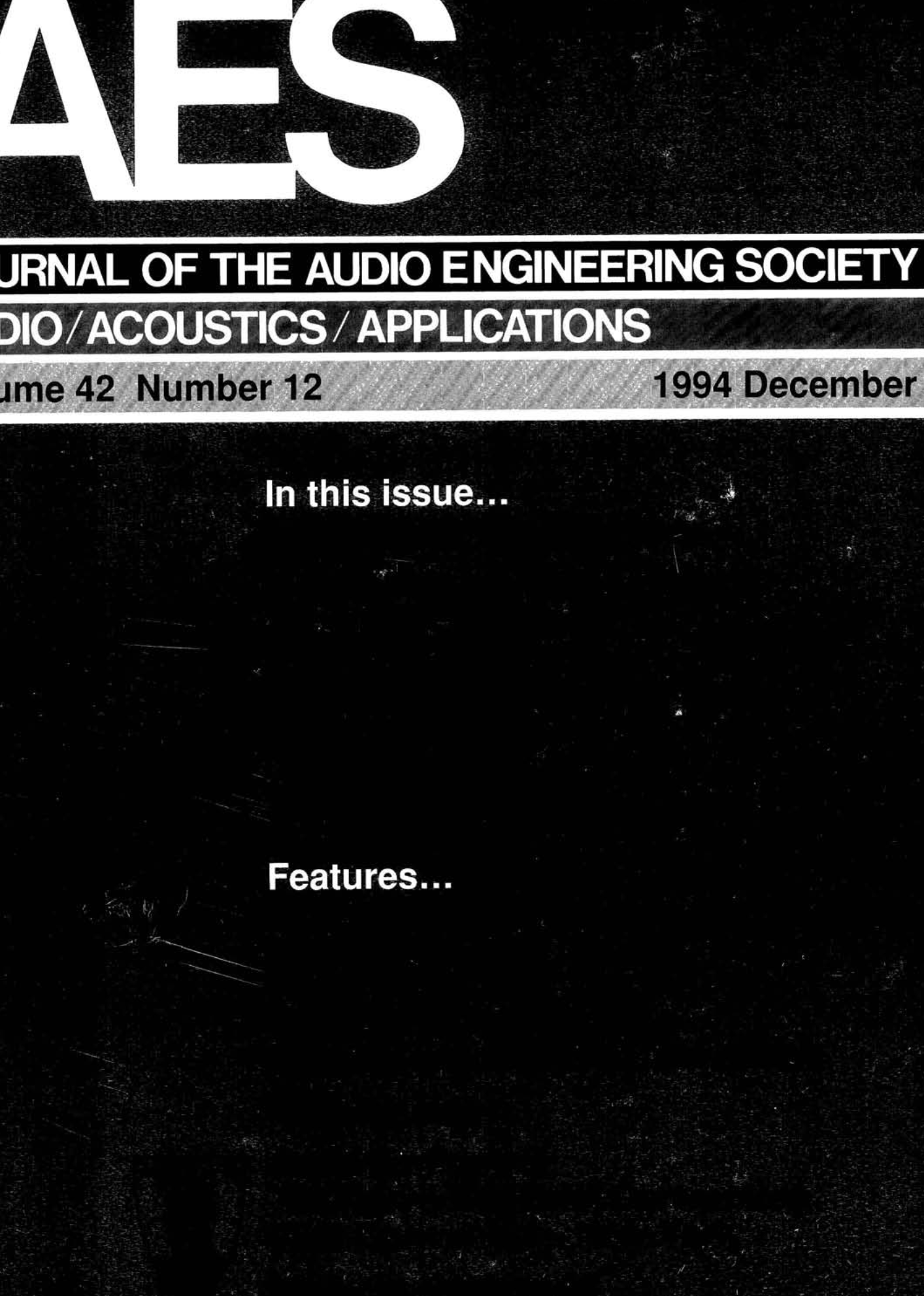 Aes E Library Complete Journal Volume 42 Issue 12 Wiring Diagram Additionally On Kellogg Air Compressor Diagrams
