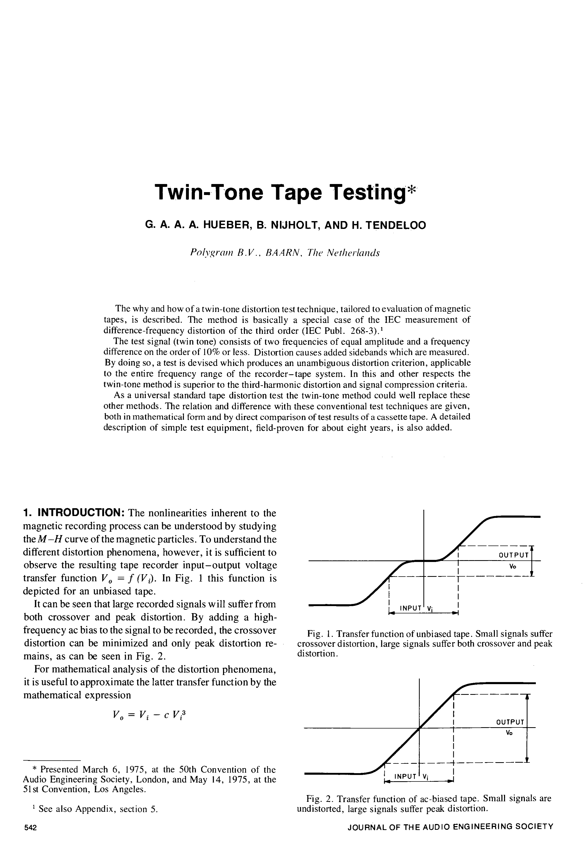 Aes E Library Twin Tone Tape Testing How To Derive The Instrumentation Amplifier Transfer Function