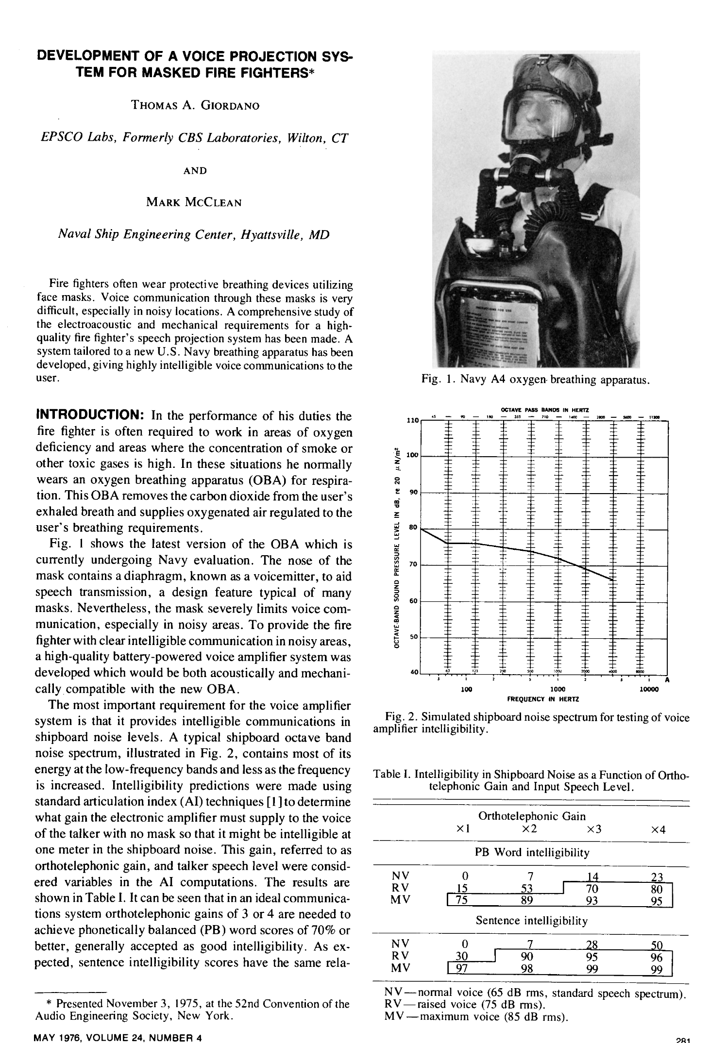 Aes e library development of a voice projection system for masked aes e library development of a voice projection system for masked firefighters fandeluxe Images