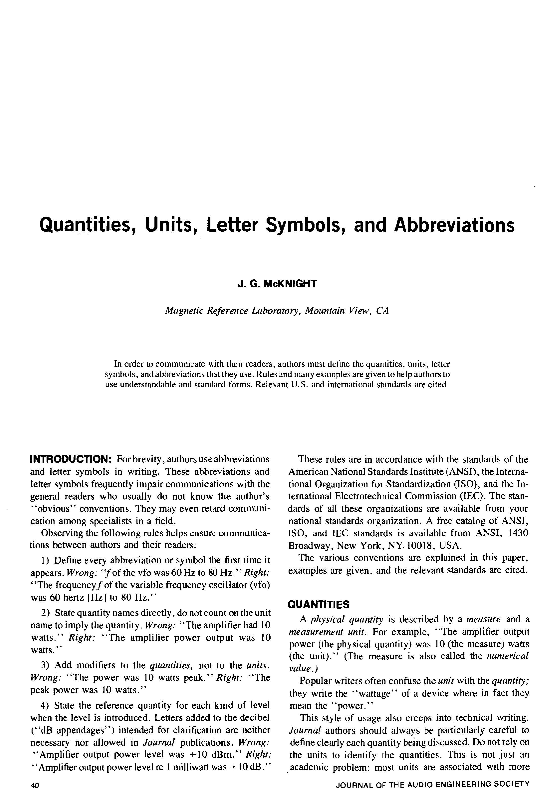 Aes e library quantities units letter symbols and abbreviations buycottarizona