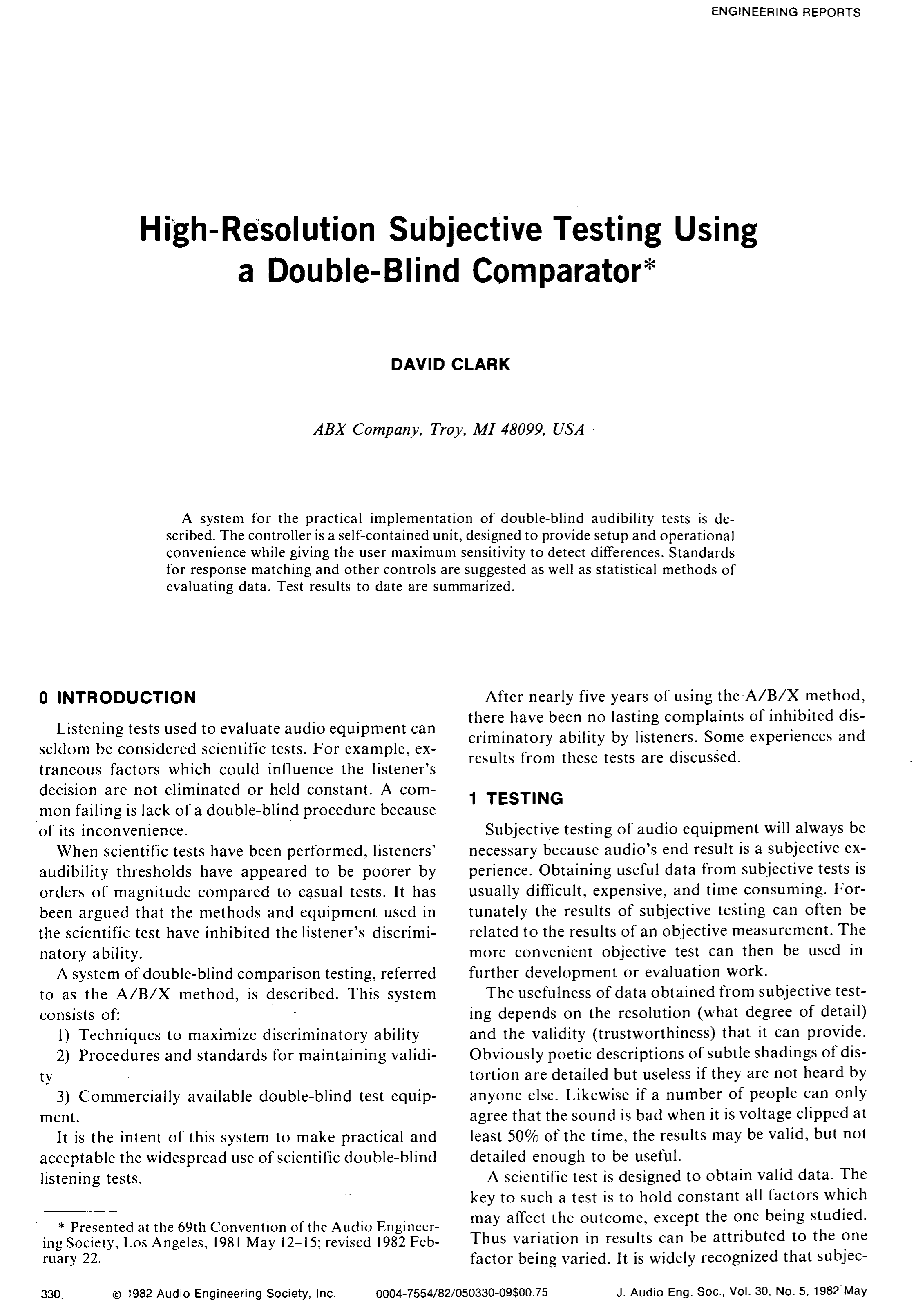 AES E-Library » High-Resolution Subjective Testing Using a Double ...
